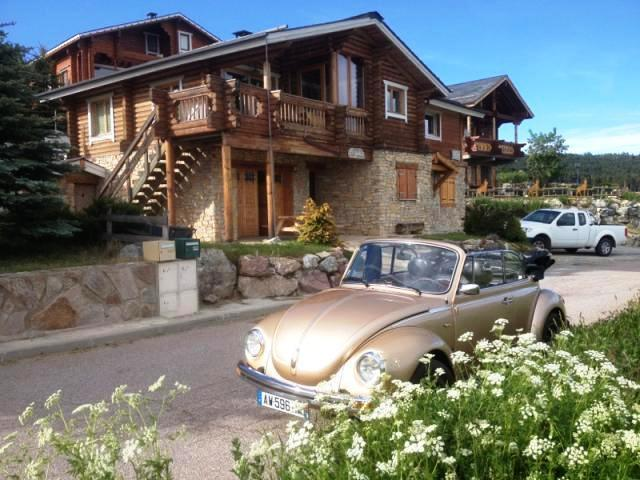 2 APARTMENTS FOR RENT THE GROUND FLOOR OF THE CHALET T2 3/4 persons and 2/3 persons STUDIO