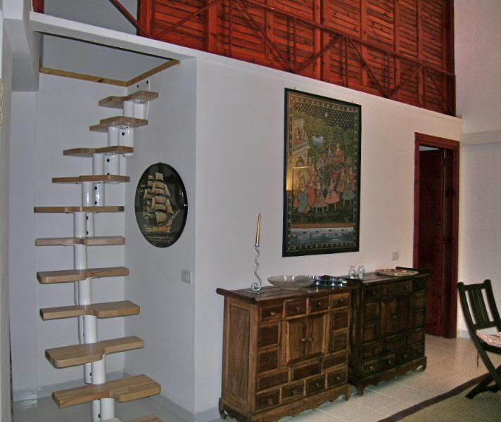 stairs for the loft