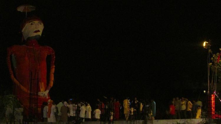 Local festival Holi in March - April // Holi festival in March / April