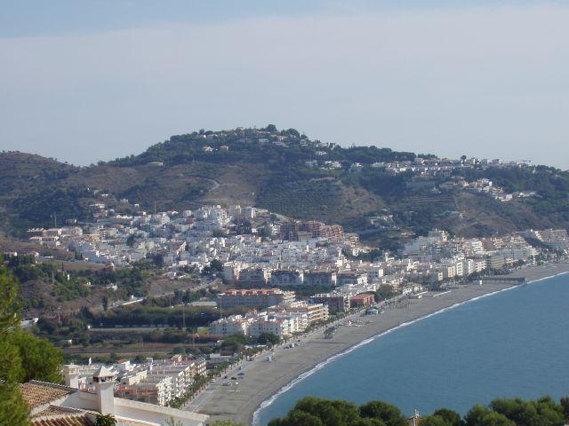 Vistas de la bahía desde Cerro Gordo