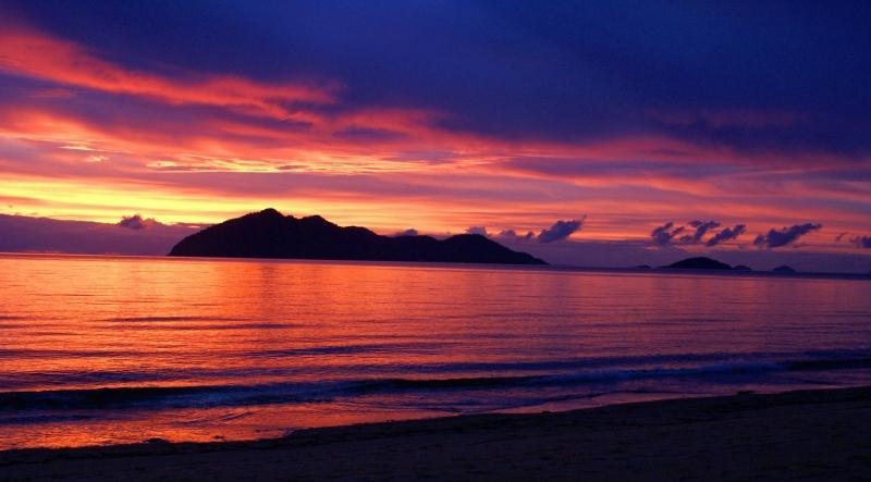 Amazing colours sunrise