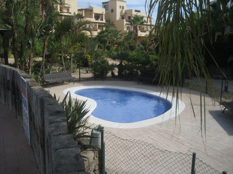 Una de las piscinas infantiles