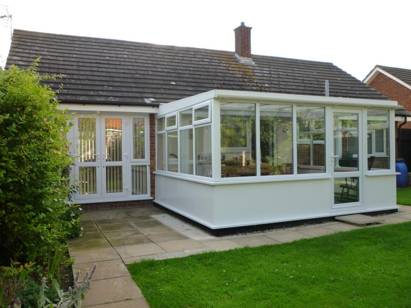 The Conservatory to the rear Garden