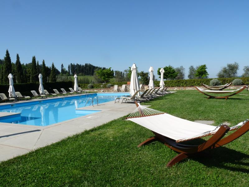 swimming pool just 250 meters from the apartment