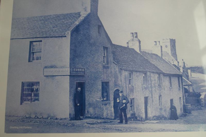 Cottage Shop Auld c1900