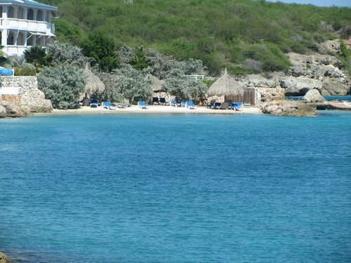 The Curacao Ocean Resort Lagoon, accessable from the pool and beach area