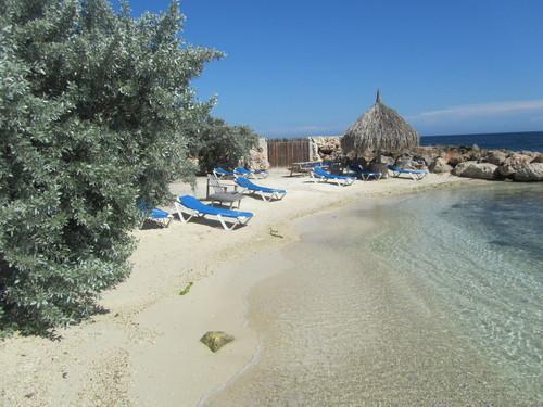 The Curacao Ocean Resort private beach