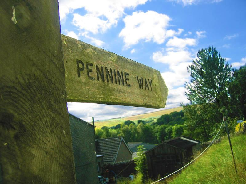 Bellingham is situated on the Pennine Way