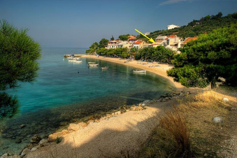 Croatian stone cottage, holiday rental in Bratus