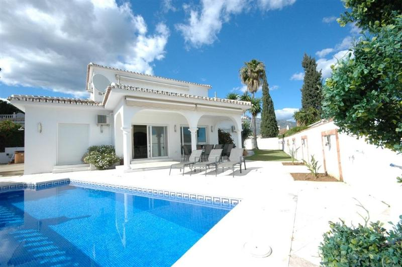 South facing Villa with terraces and private heated pool.