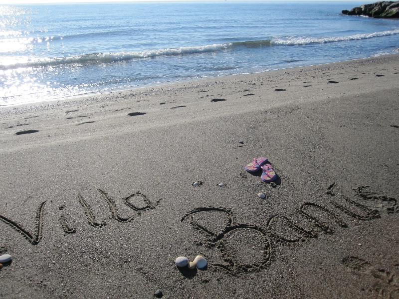 Beautiful, safe sandy beach  just 8 mins walk from the villa. Safe, clean water.
