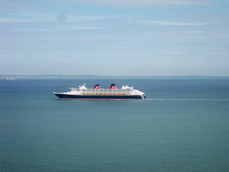 Views of a great variety of maritime interest from fishing boat to cruise liner