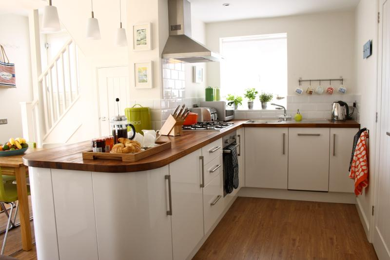 Contemporary and stylish kitchen