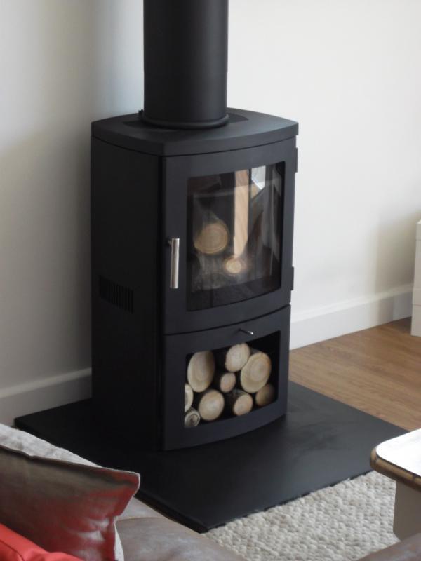 Wood burner for cosy winter visits
