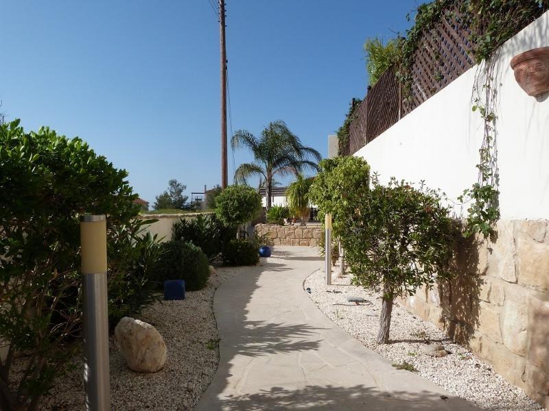 Entrance to villa 14.