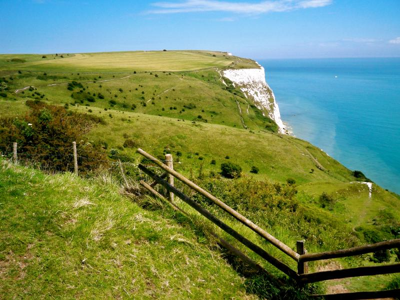 Superb cliff walks to Dover and Kingsdown