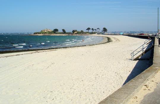 Saint-Anne Strand, nur 1500 Meter vom Haus entfernt