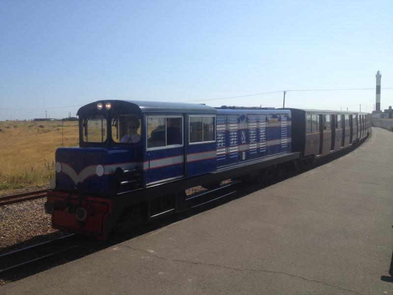 RH&DR Miniture Railway - There is a local station at St Mary's Bay