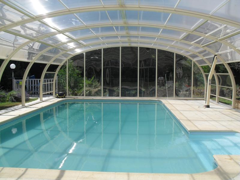 Covered Pool Indoor View