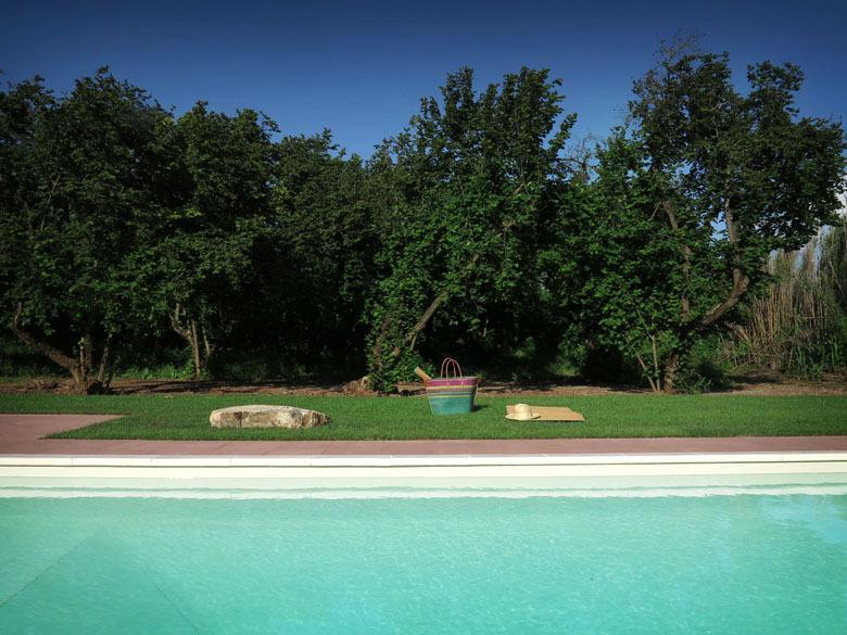 Le Caiole - Castagno / Chestnut. The swimming pool.