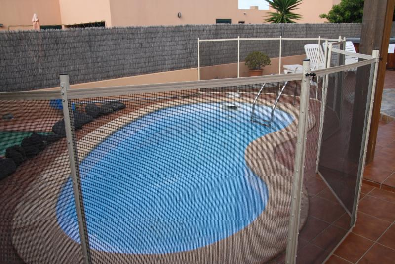 Zwembad weergave