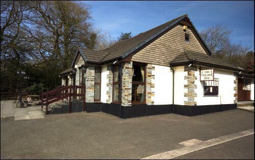 The Village Inn onsite pub/restaurant.