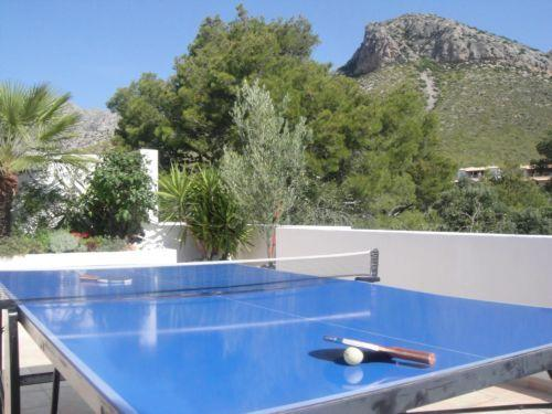 Table tennis on private roof terrace