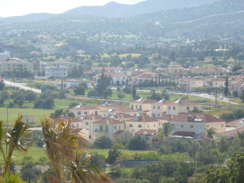 View of Alethriko village