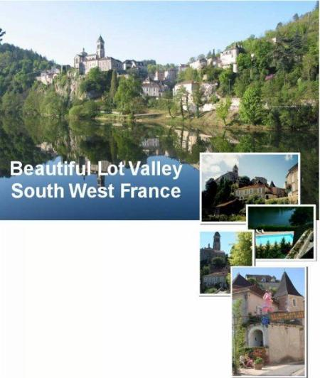 Lots of interestin sites nearby such as Rocamadour and St Circ Lapopie