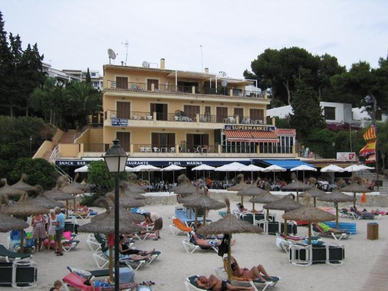 Our apartments seen from the beach