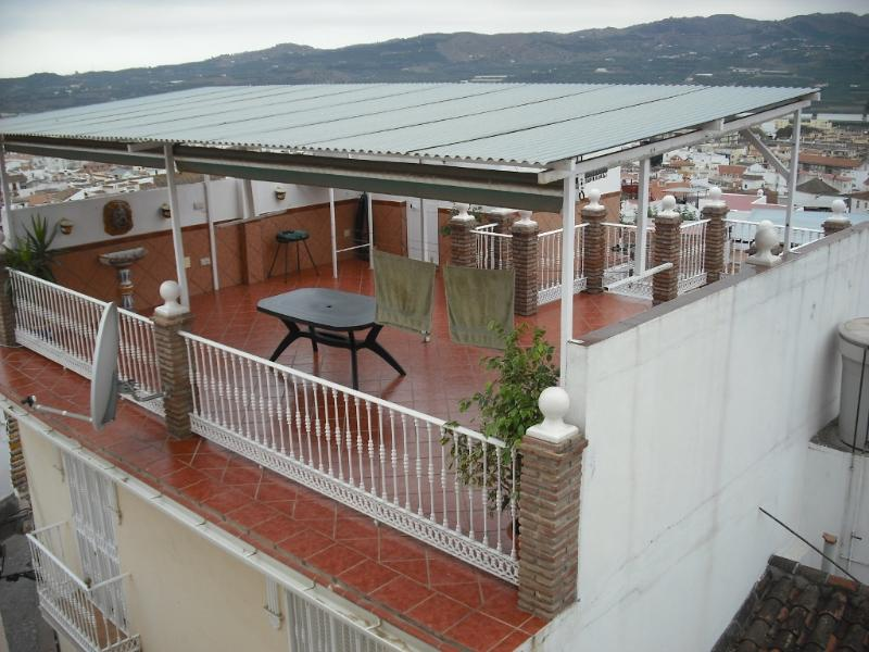 Roof Terrace - 75 Sq Meters - with 365 degree views of the Sea, Mountains, Sunset and Architecture