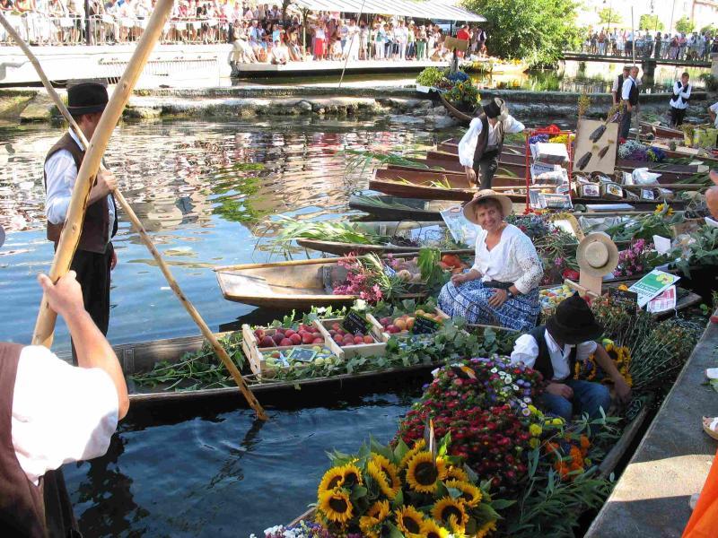 Market in August