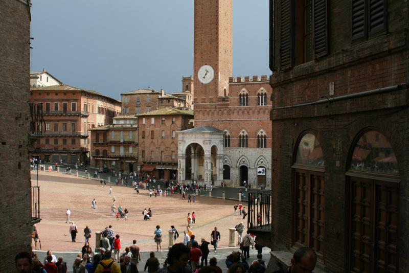 Siena is a nice daytripp, take the small road through world famous winedistrict Chianti back.