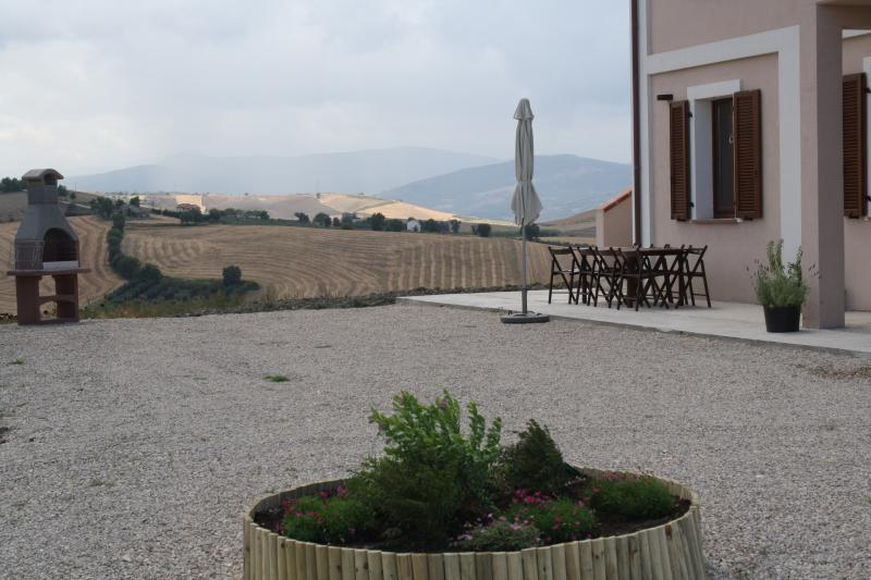 Villa masseria - courtyard