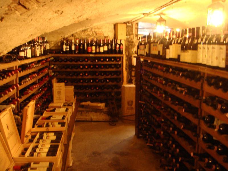 Winestore in Lucca.