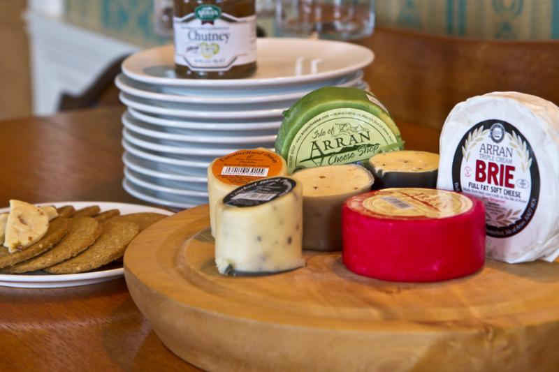 Stock up with island cheese and oaties