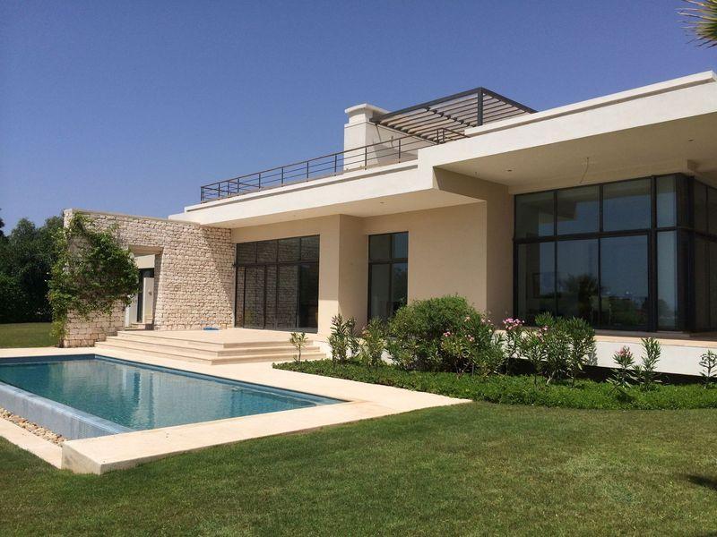 Villa de Luxe avec piscine Golf Essaouira Mogador, location de vacances à Essaouira