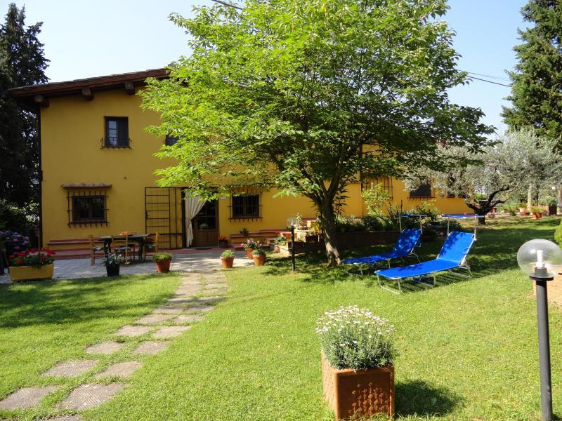Hermosa Casa en la Toscana, jardín privado, holiday rental in Trecento