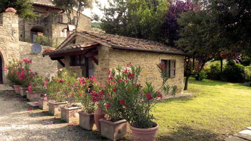 La Capannina di Romani Rinaldo, holiday rental in Castiglion Fiorentino