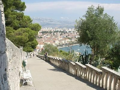 View from Vidilice, Marjan, Split