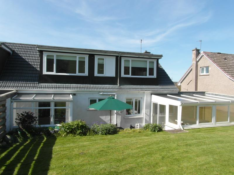 Fully enclosed and secluded back garden - ideal for BBQs