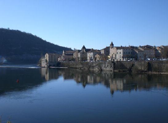 Cahors viewed from across the Lot river
