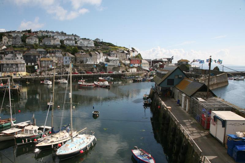 Idyllic views of the harbour