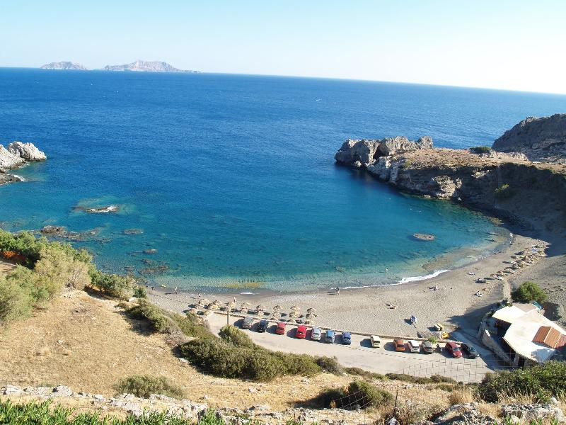 Aghios Pavlos beach 30 km