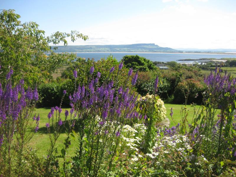 View from the garden (Lough Foyle)