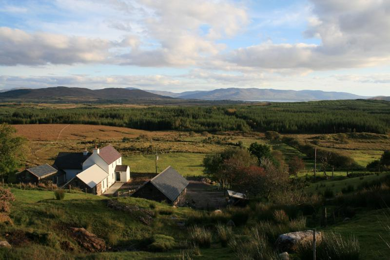 Valley of the hare is a luxury holiday cottage overlooking Kenmare Bay on the Ring of Kerry