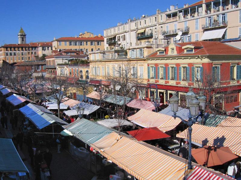 Niza: Old Town, cours Saleya