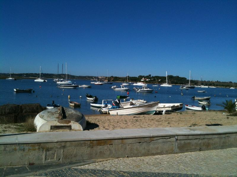 Peaceful harbour in Alvor.