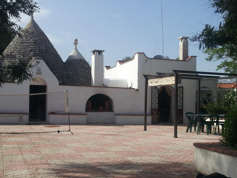 Another view of trullo from car park