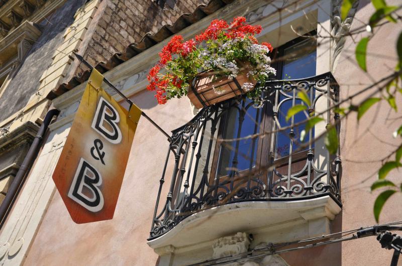 balcony on the main street
